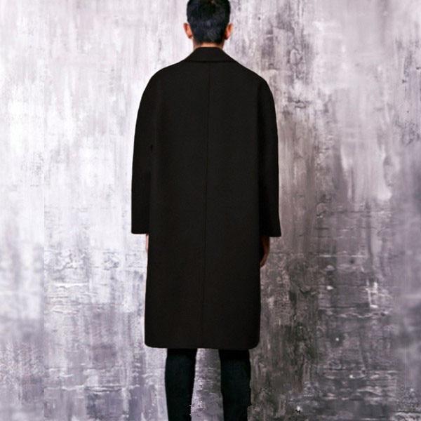 Boutonnage Survêtement L'hiver 2017 Automne Double Mâle Et De La Costumes Plus Hommes Mode En Nouvelle Manteau Laine S 5xl Taille BZqnxOn