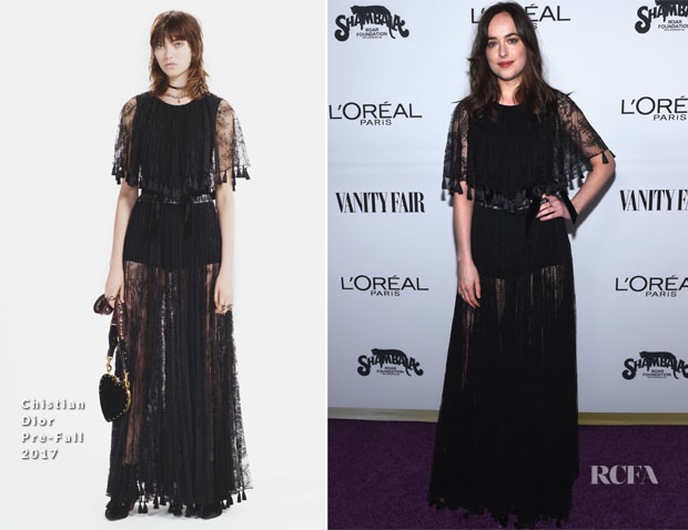 Boho Black Lace Dress