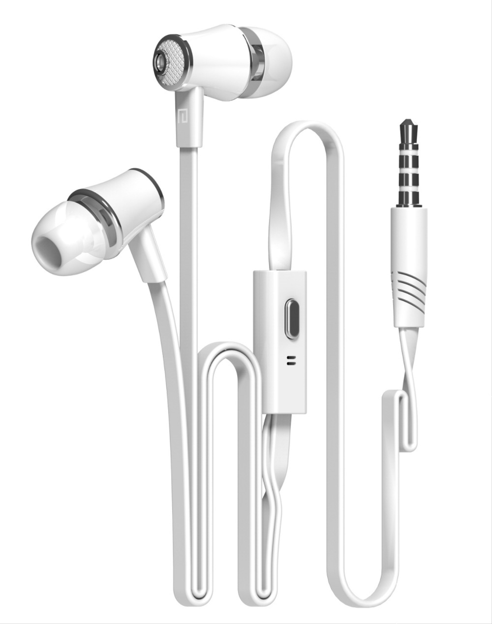 Headphone Stereo Bass Earphone Earpieces Headset with MIC 3.5MM Hands-free for Apple Samsung Sony HTC Mp3 Tablet yotaphone 2