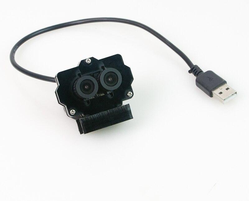 1MP 720 P Webcam Dual Lens Macchina Fotografica del USB Modulo w/Wifi VTX VR Scatola Occhiali di Protezione per 3D Video VR realtà virtuale Drone FPV RC Auto Robot-in Componenti e accessori da Giocattoli e hobby su  Gruppo 1