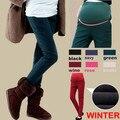2017 Invierno/Primavera de Maternidad Caliente Pantalones/Pantalones Para Mujeres embarazadas Embarazo Carrera Pantalones/Leggings 6 color! más el tamaño XXL!