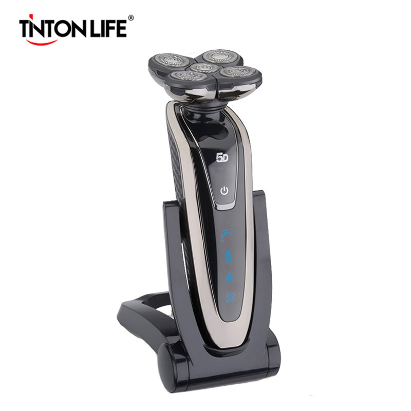 TINTON LIFE 5 Blade Washable Rechargeable Electric Shaver Els