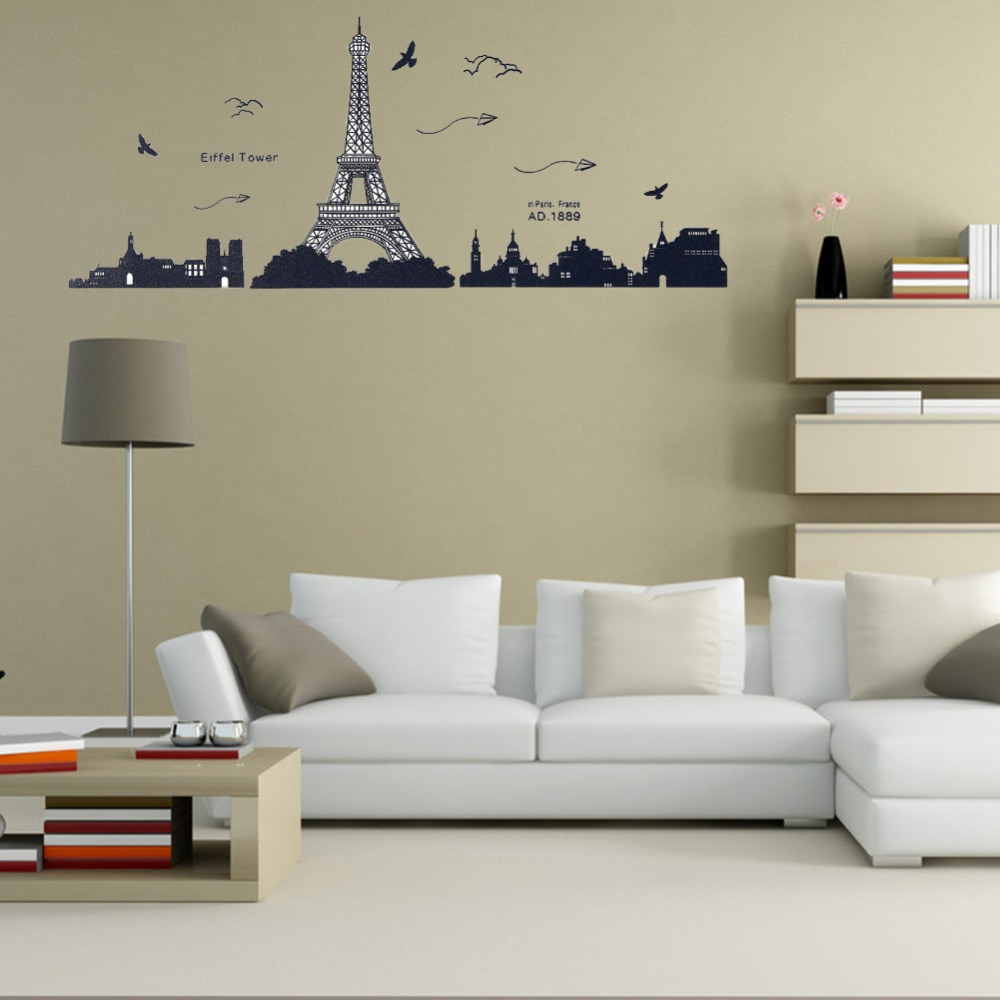 Compare prices on eiffel tower mural  online shopping/buy low ...
