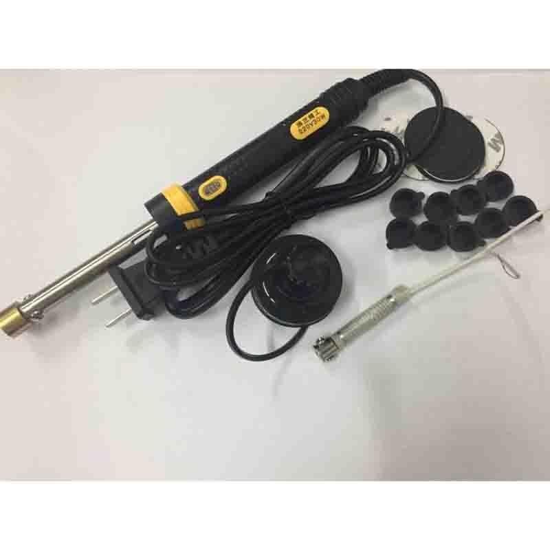Toner refill tool for hp/canon/samsung/lexmark/oki toner cartridges drill hole digger and foam sticker cap