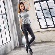 New Outdoor Sports, Running, Fitness, Yoga Clothes, Womens Quick Dry T-shirt