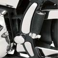 Cerved Swingarm Frame Insert Set For Harley Softail Models 2008 2009 2010 2011 2012 2013 2014 2015 2016