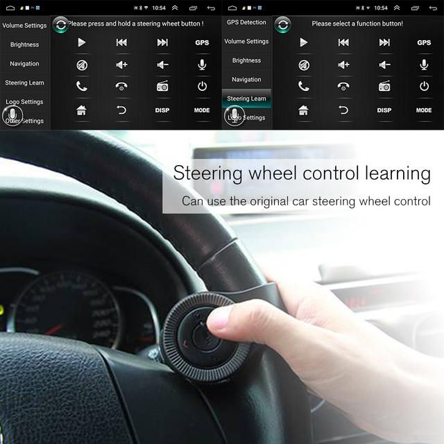Podofo Car Multimedia Player Andriod GPS Navigation 2DIN HD Autoradio WiFi USB FM 2 Din 7″ Car Audio Radio Stereo Backup Monitor