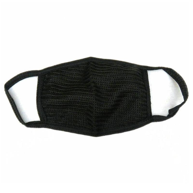 1 Pcs High Quality Double Black Fine Wool Mask Personal Protection Cotton Anti Dust Protective Fashionable Double Mask ZAR4343