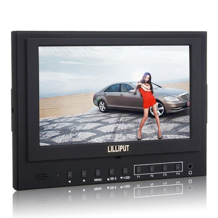 Lilliput 5D-II/O/P Color TFT LCD Monitor HDMI Input Output For HDMI port camera