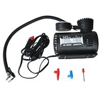 12v Car Auto Electric Pump Air Compressor Portable Tire Inflator 300ps