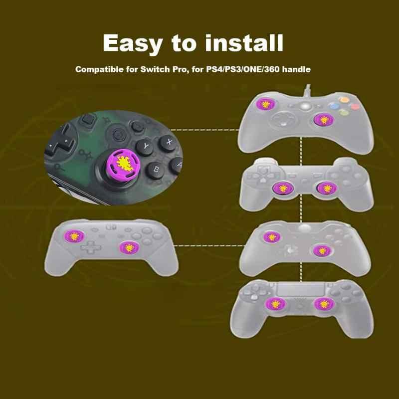 8 шт./компл. Замена захват для геймпада Кепки крышка джойстика рокер защиты Управление Стик для переключателя Pro PS4 PS3 один 360 Ручка
