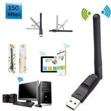 600Mbps Dualband WiFi Adapter Dongle WLAN Stok IEEE 802.11b/g 150Mbps Wireless USB 2.0 WiFi Adapter USB wiFi Ontvanger