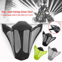 Motorcycle Pit Dirt Bike Rear Seat Fairing Cover Tail Cowl Fairing Seat Cover Fits For Kawasaki 2017 2018 Z900 Motor Seat Cowl