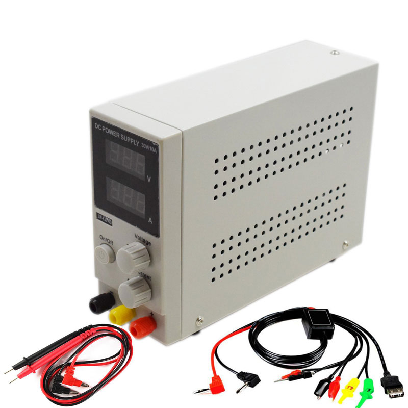 Eruntop LW K3010D 30V 10A Switching Regulated Adjustable DC Power Supply SMPS Single Channel 30V 5A