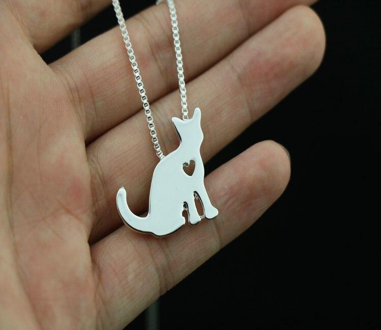 Купить ожерелье для кошки с подвеской в виде животных подарок на день