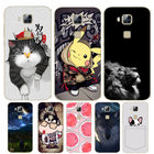 For Coque Huawei GX8 Case 3D Cartoon Soft TPU Silicone Back Phone Cases For Fundas Huawei G8 Cover RIO L01 L02 D199 Housing Case