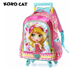 hot deal buy cartoon backpack school backpacks for girls primary kids bags high quality large size capacity school bags for children girls