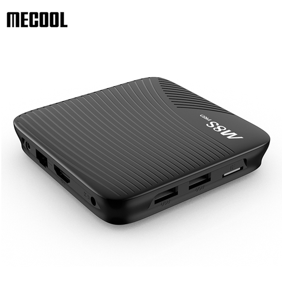 MECOOL M8S PRO Android 7.1 TV Box 3GB DDR4 16GB eMMC Amlogic S912 Smart TV Box 4K 2.4G/5GHz WIFI Bluetooth Set Top Box zidoo h6 pro android 7 0 tv box allwinner h6 четырехъядерный ddr4 2bg 16gb emmc 802 11ac wi fi bluetooth