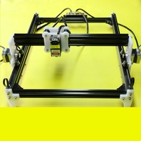 New500mw/2500mw/5500mw 15000mw DIY Laser Engraver Machine V3 CNC Laser Machine Wood Router for Cutting and Engraving
