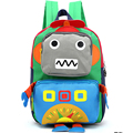 IVI personagem de Banda Desenhada Engraçado robô mochilas para meninos adolescentes meninas crianças escola bags para adolescentes mochila para adolescente meninas