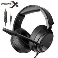 Xiberia NUBWO N12 PS4 Casque Bass Headset PC Gaming Headphone With Microphone for Nintendo switch New Xbox One Moblie PUBG Games