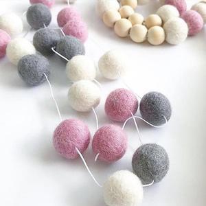 2M Wool Felt Balls Handmade Po