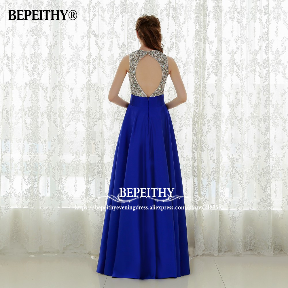 Vestido Longo Royal Blue Duga večernja haljina 2016 Crystal Top - Haljina za posebne prigode - Foto 2