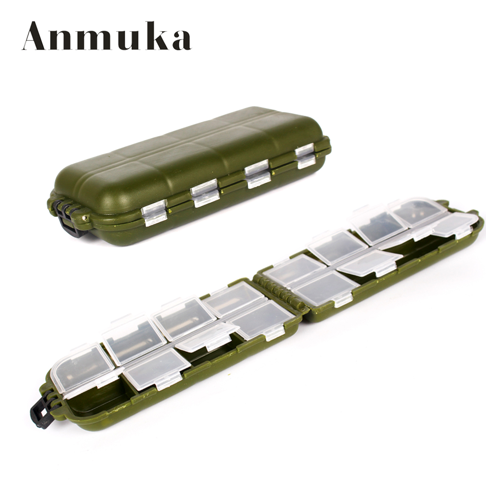 16 Rod Octagon Grid: Anmuka Fishing Tackle Boxes 16 Grid Fishing Accessories