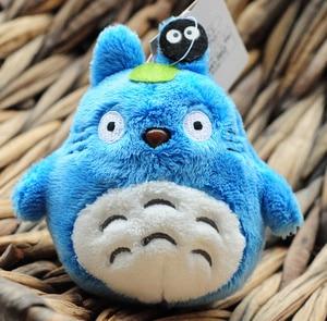 Image 5 - Mini 10cm Totoro Plush Toy kawaii Anime Totoro Keychain Toy Stuffed Plush Pendant Totoro Dolls