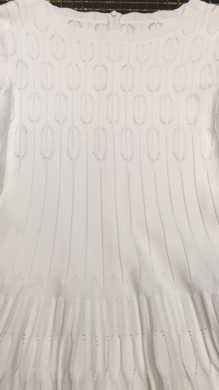 Jacquard Bandage Night Tricoté Kleezy Party Longues À Robe Club D'hiver Femmes Élégante Manches Moulante Robes Blanc Hl4193 2018 zxwwnSI6qB