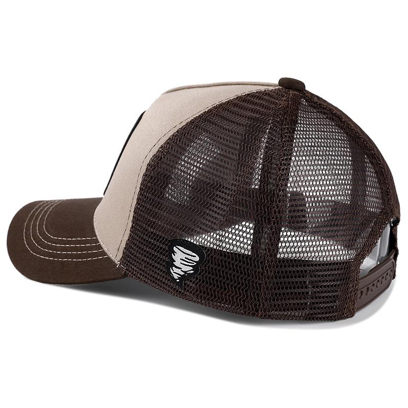 New Brand Anime TAZ KHAKI Snapback Cap Cotton Baseball Cap Men Women Hip Hop Dad Mesh Hat Trucker Dropshipping 3