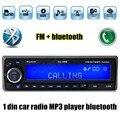 12 V Bluetooth USB/SD/AUX MP3 player Rádio Do Carro Eletrônico veículo handsfree Stereo Áudios FM Din Único música auto