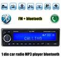 12 V Bluetooth USB/SD/AUX MP3 reproductor de Radio Del Coche de vehículos Electrónicos Audios Estéreo Simple Din FM manos libres música auto