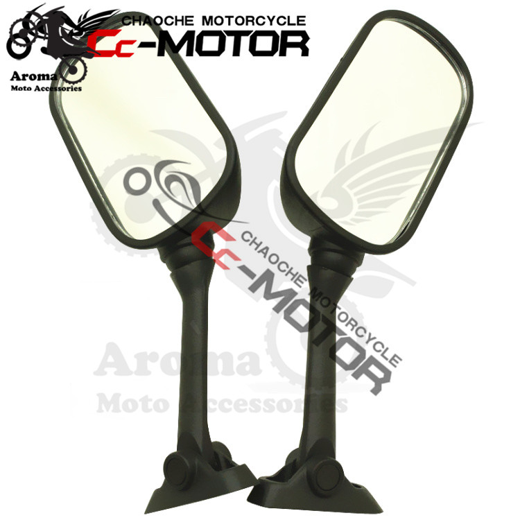 2 colors black carbon fibre color scooter accessories motorcycle rear view moto parts motorbike mirror for honda VFR800 rearview