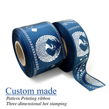 2(51mm) wholesale personalized ribbon custom printed satin and ribbons for party 100yards/lot