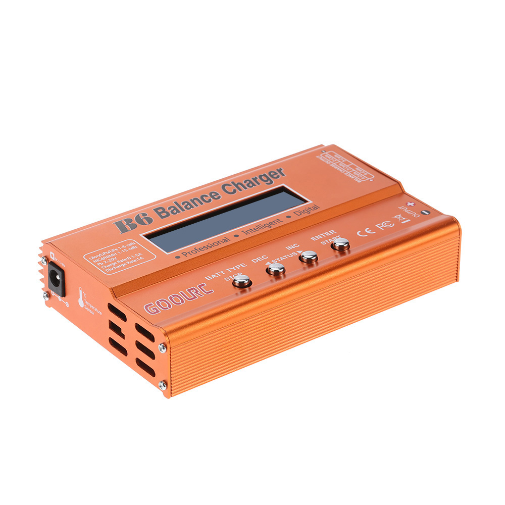 GoolRC B6 Mini Multi-functional Balance Charger Discharger for LiPo Battery Lilon LiFe NiCd NiMh Pb RC Battery RC Car Parts Dron (7)