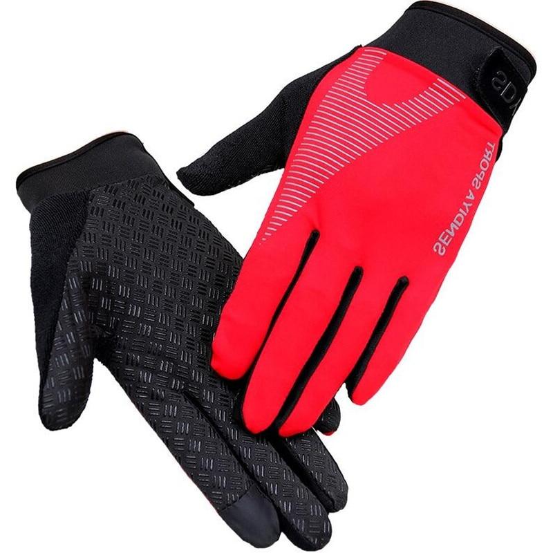 2018 Новые велосипедные перчатки для Для мужчин Для женщин мотоцикл полный палец велосипед спортивные перчатки коснулся Экран телефон перча...