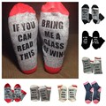 2017 Unisex IF YOU CAN READ THIS BRING ME A BEER Letter Printed Fashion Socks Cotton Socks Funny Warm Winter Spring Socks