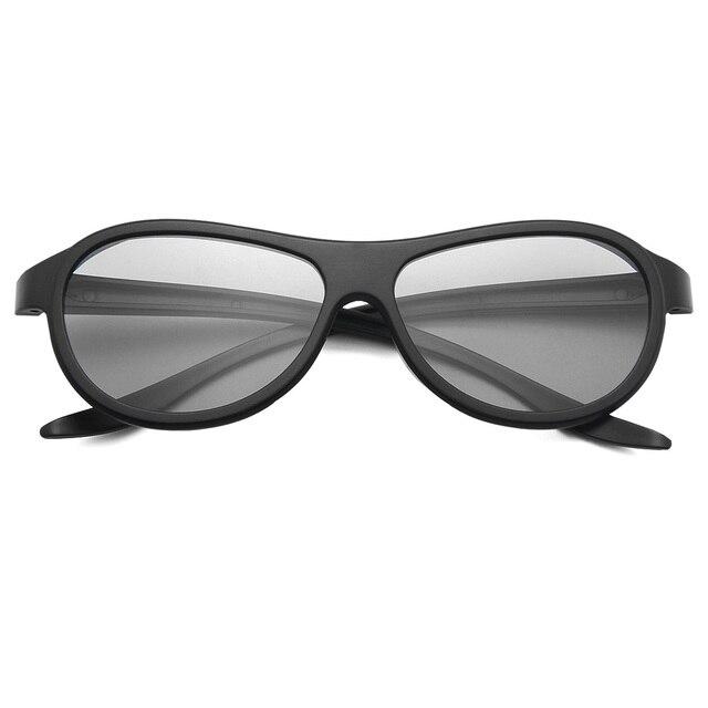 f54c68633e 2019 nuevo VQ183R 3D gafas Real D portátil polarizadas gafas pasivas para LG  TCL Samsung SONY
