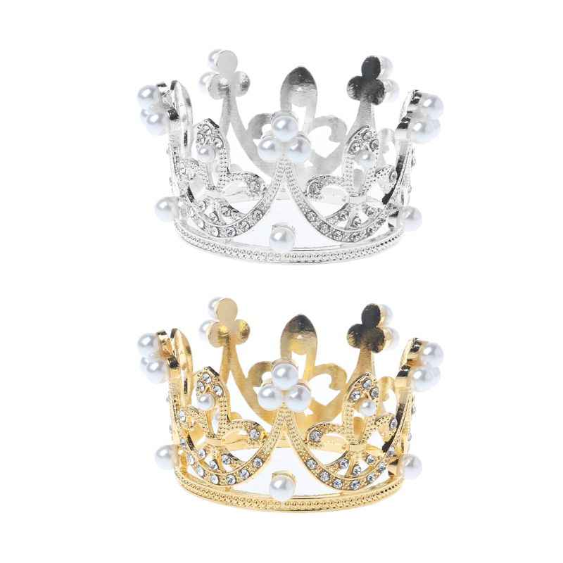 KLVNewborn Girls Boys Photography Gold Crown Props Little Baby Photo foto shooting Crown Accessories Infant bebe fotografia Prop