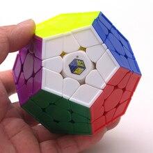 Yuxin Little Magic 3x3 волшебный кубик-Додекаэдр развивающие игры скорость Развивающие головоломки cubo magico personalizado кубик для игры игрушки