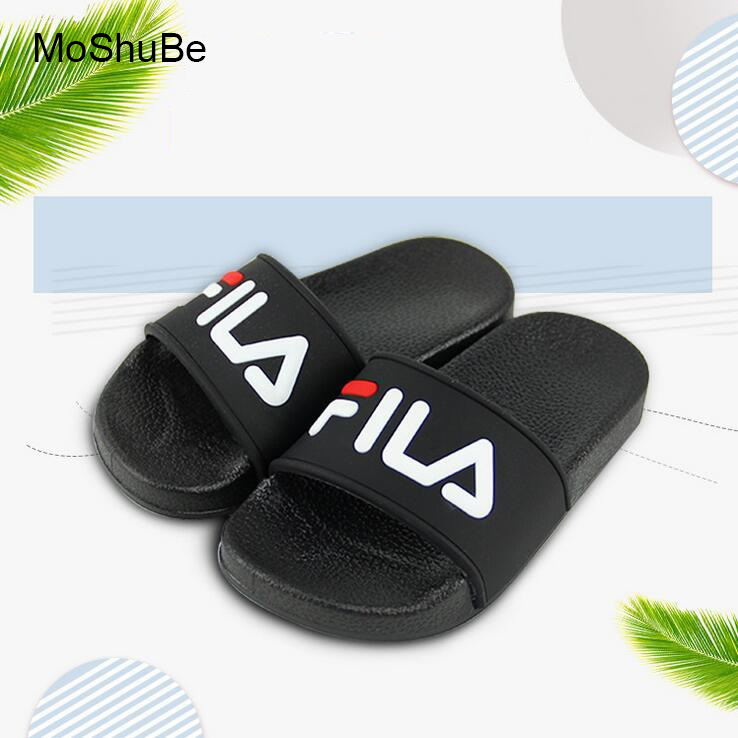 Boys And Girls Summer Casual Sandals Soft Sole Fashion Pattern Kids Slippers Barefoot Water Shoes For Children Bath Beach Shoes