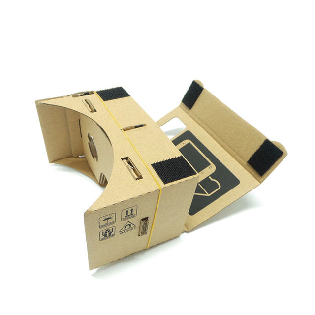 Hot Sale VR Cardboard Glasses 3D Glasses for Xiaomi Android DIY VR Glasses Box for iPhone 5 6 7 Smart Phones 3D VR Glasses 2