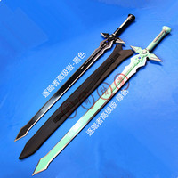 SOA sword art online Kirito ALfheim Anime secondary sword Cosplay steel Sword knife blade weapon Cosplay Props shipping free