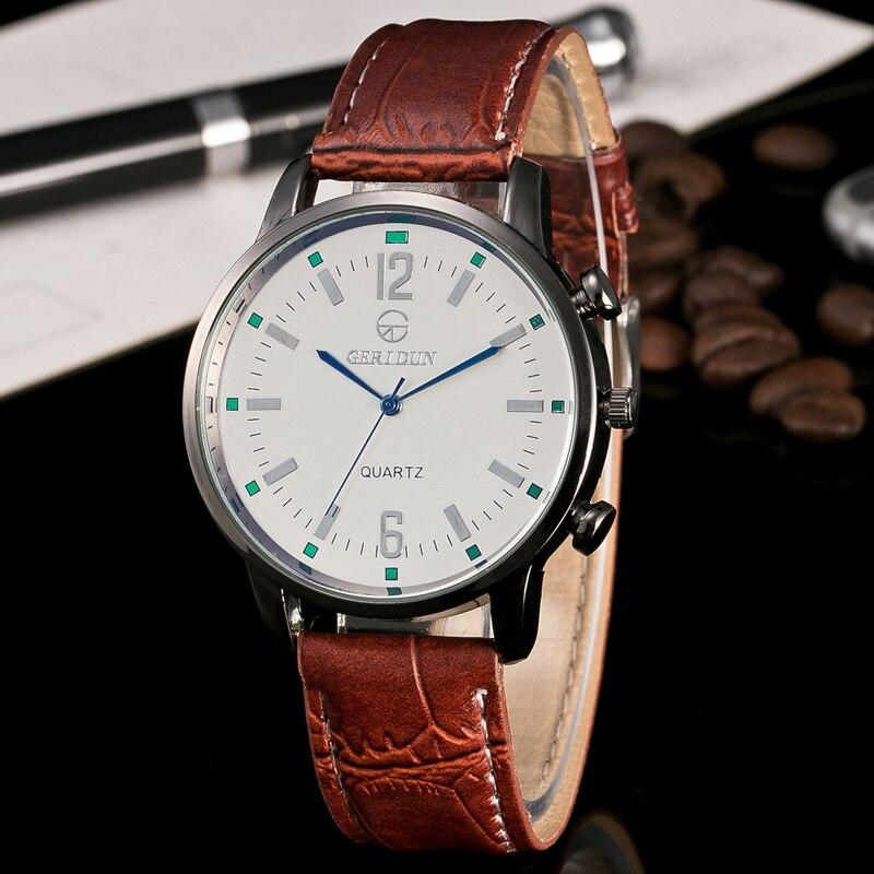 2017 Relojes de Hombre Reloj de pulsera de Lujo Para Hombre Reloj de - Relojes para hombres - foto 1
