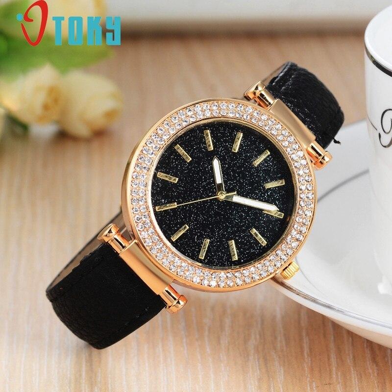 HomeNest Creative Watches Women Leather Band Watches Sport  Date Wrist Watch Bracelet Quartz Watch relogio feminino