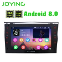 Joying 7Double 2 Din Android 8.0 Car Radio Stereo Head Unit For Opel GPS Navigation Multimedia player Support Cam Dash Carplay