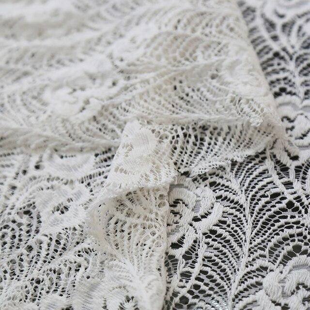 Tissu dété en dentelle fleurie | Dentelle élastique, attaché vertical, vêtements personnels pour seniors, vêtements pour robe, tissu
