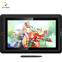 XP-펜 Artist15.6 Pro 그리기 태블릿 그래픽 모니터 디지털 태블릿 다이얼 60도 기울기 기능 8 익스프레스 키