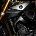 For  Yamaha MT-09 MT 09 13-15 years modified carbon fiber inlet air guide / forward air outlet